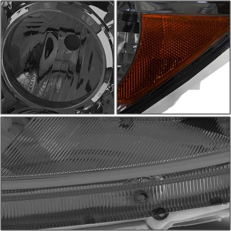 DNA MOTORING HL-OH-086-BK-AM Headlight Assembly Driver And Passenger Side