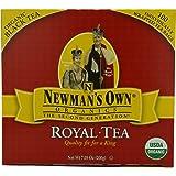 Newman's OwnOrganics Royal Tea, Organic Black Tea, 100 Individually Wrapped Tea Bags, 7.05-Ounce Boxes (Pack of 6)