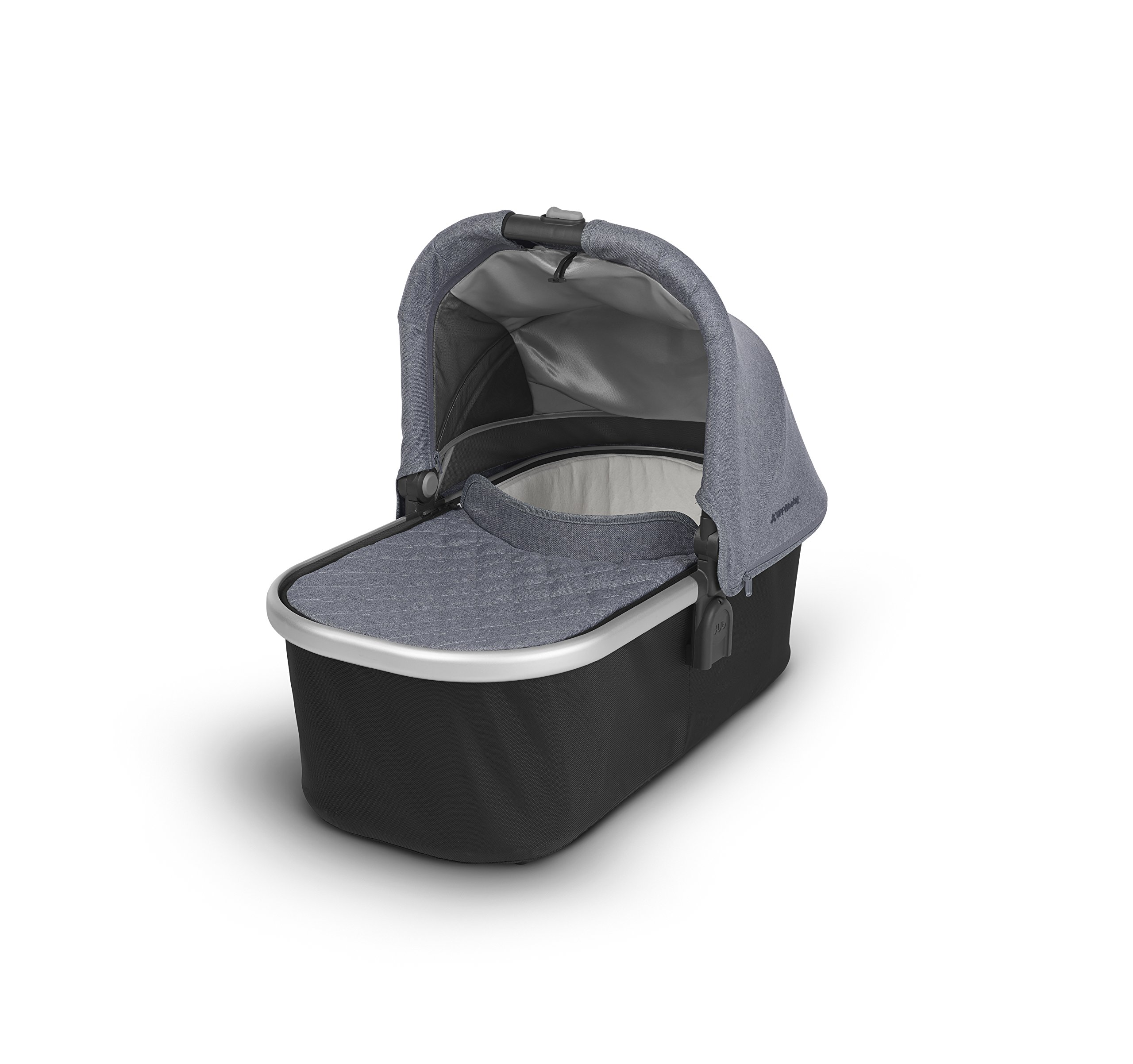 2018 UPPAbaby Bassinet -Gregory (Blue Melange/Silver) by UPPAbaby