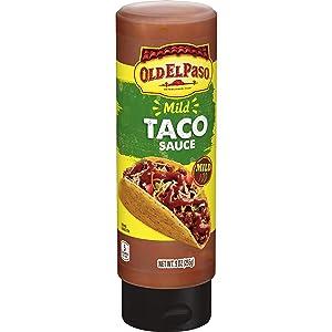 Old El Paso Mild Taco Squeeze Sauce, 9 oz