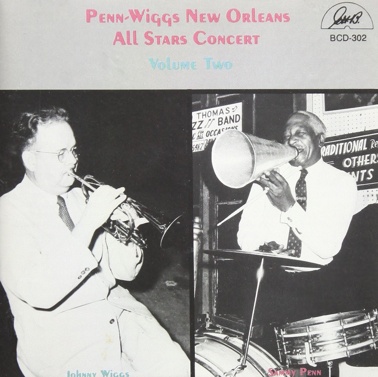 Penn-Wiggs New Orleans All Star Concert, Vol. 2