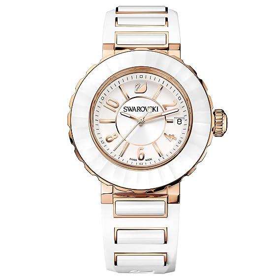 Reloj Sport Swarovski Color Oro Chapado Octea 5040555 Blanco Rosa En bYv76yfg