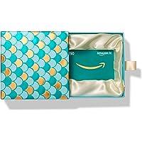 Amazon.de Geschenkkarte in Geschenkbox (Premium Mint und Gold) - mit kostenloser Lieferung per Post