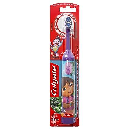 Colgate Dora La Exploradora de cepillos de dientes para niños de edades: 2 – 5