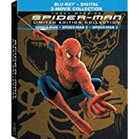 Spider-Man Trilogy Collection Limited Edition Blu-ray Deals