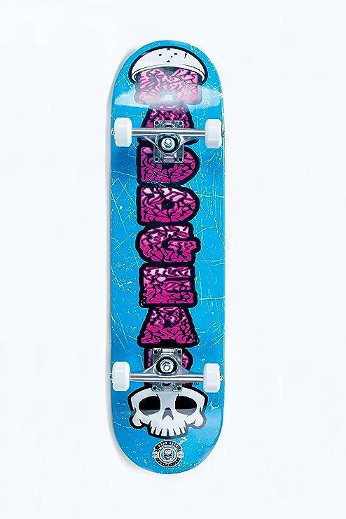 353d7065 Amazon.com : Madd Gear Brain Skateboard, Blue : Sports & Outdoors