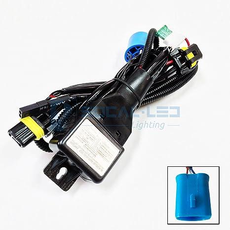 O-NEX HID Relay Harness 9007 (HB5 9004) 12V 35W/55W Bi-Xenon Hi/Lo on