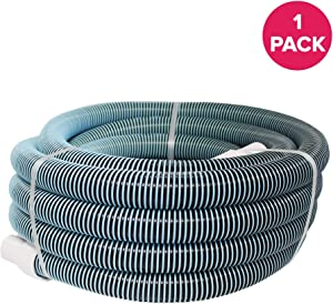 "Think Crucial Replacement Vacuum Cleaner Hose Parts Compatible with All Pool VAC Hoses - 1/2"" x 40' Heavy Duty Swimming Pool Vacuum Hose - Pair with Part 33440 and Manual Vacuum Heads - Bulk, 1 Pack"
