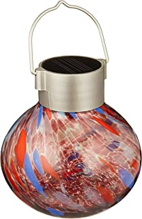 Amazoncom Allsop Home and Garden Solar Tea Lantern Handblown
