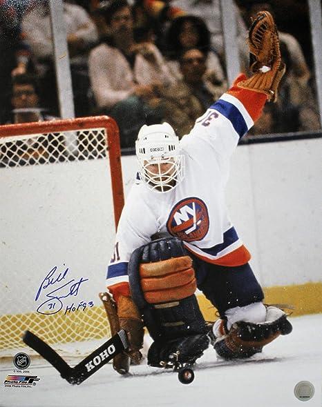 designer fashion 0b680 2a078 Autographed 16 X 20 Billy Smith New York Islanders 16 X 20 ...