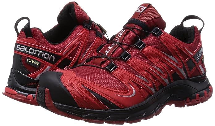 Amazon.com   Salomon XA Pro 3D Gore-TEX Trail Running Shoes - AW15-11 - Red   Trail Running