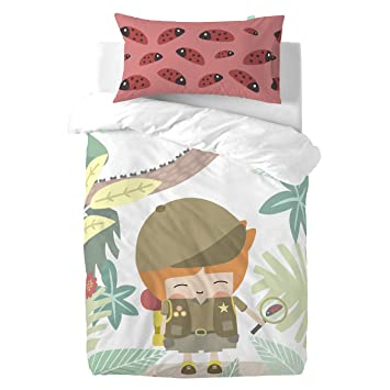 Mr Fox Kids Couture Explorer Bettwäsche 100x135 Cuna Amazonde