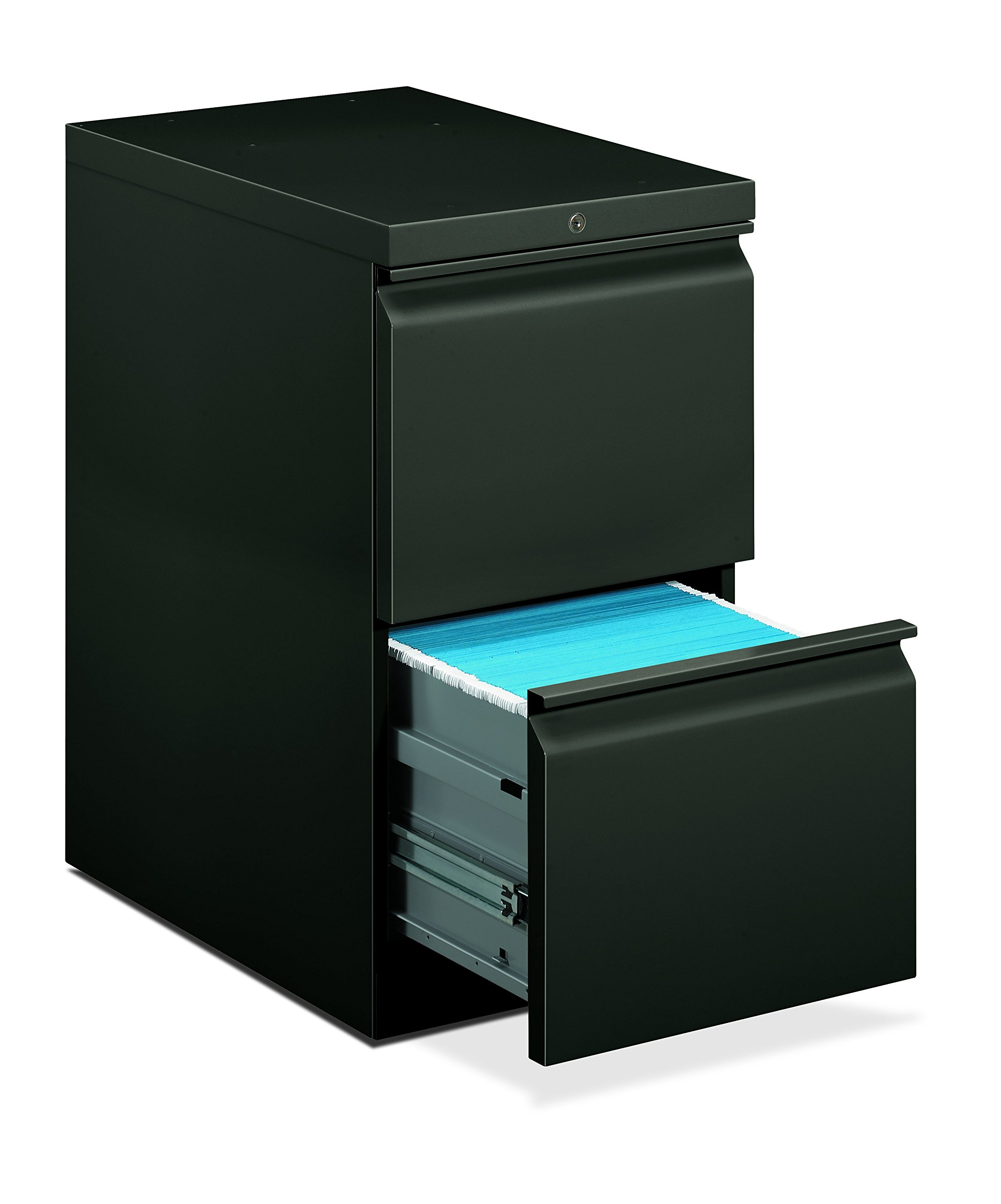 HON 33823RS 22-7/8-Inch Efficiencies Mobile Pedestal File with 2 File Drawers by HON