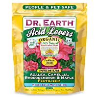 Deals on Dr. Earth Organic & Natural Acid Lovers Azalea, Camellia 4lb