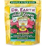 Dr. Earth 703P Organic 4 Azalea/Camellia/Rhododendron Acid Fertilizer in Poly Bag, 4-Pound