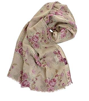 05fcce5c6c2085 Garden Girl Halstuch Schal Classic Garten Damen Tuch Hals Blumen floral  Mode Neu