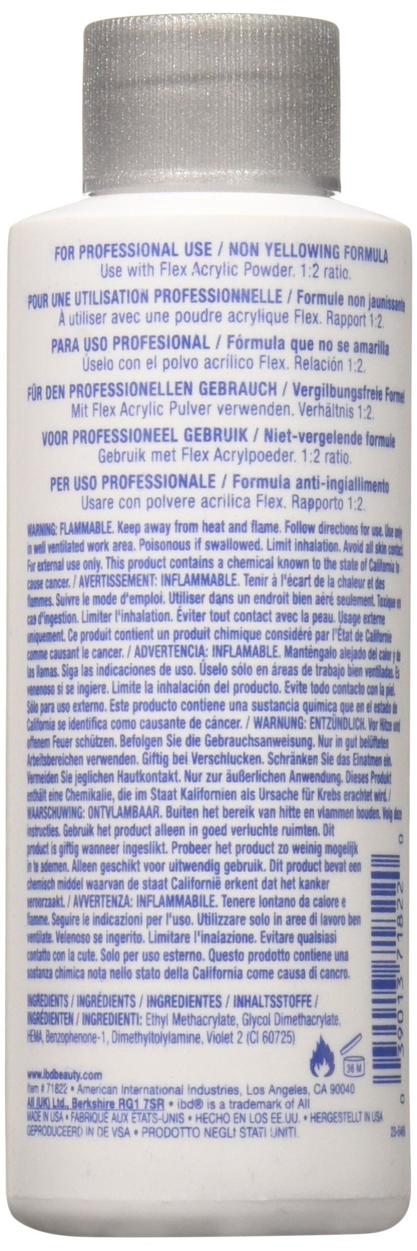 IBD 71822 Acrylic Grip Monomer, 4 Fluid Ounce
