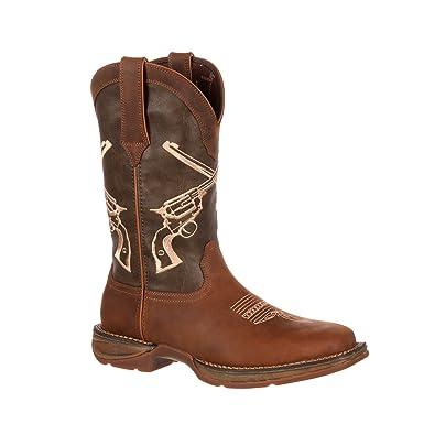 """Men's Rebel 12"""" Western Boots"""