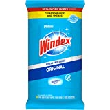 Windex Glass and Surface Wipes, Original, 38 Wipes (6 Packs) (322588)