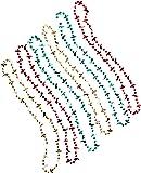 Beistle 57262 6-Pack Fiesta Beads, 33-Inch