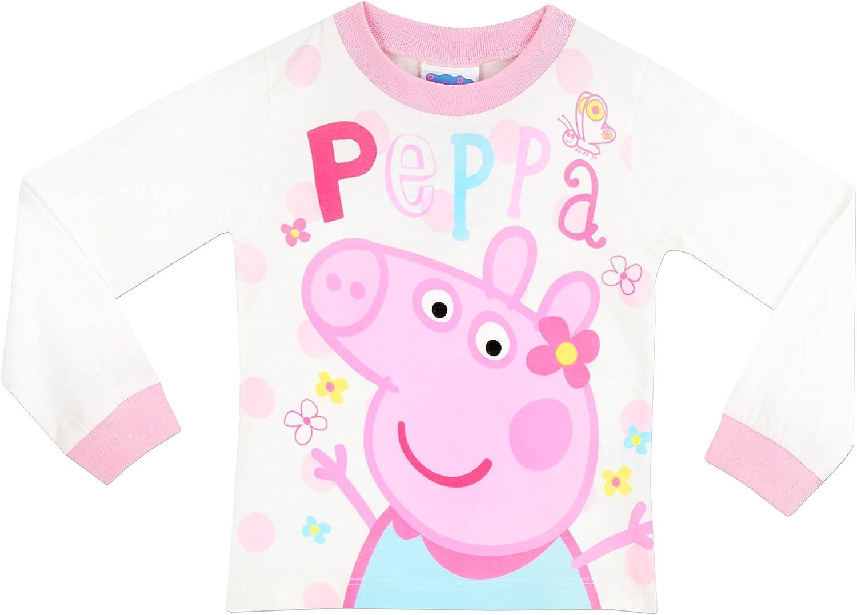 Peppa Pig Pigiama a Maniche Lunghe per Ragazze