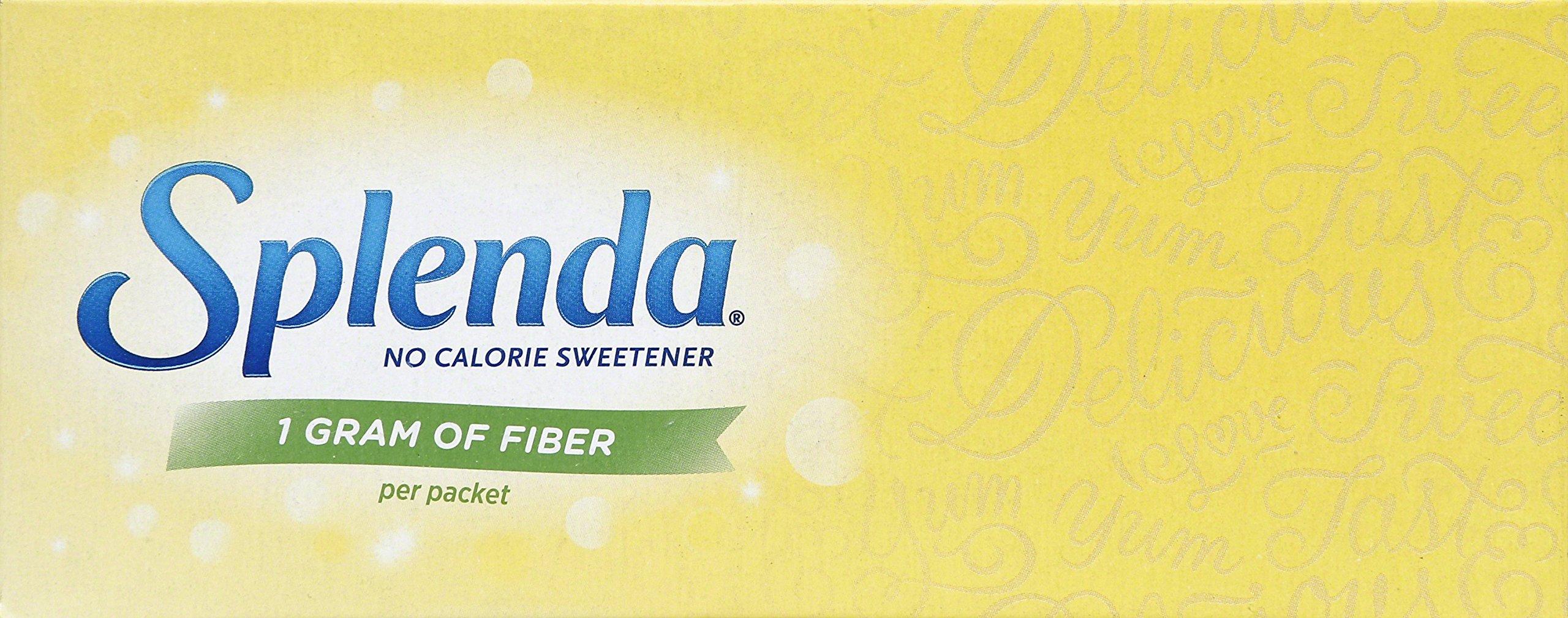 JOJ201800   Splenda No Calorie Sweetener with Fiber, Yellow, 80 Count (1G Fiber) by Splenda (Image #5)