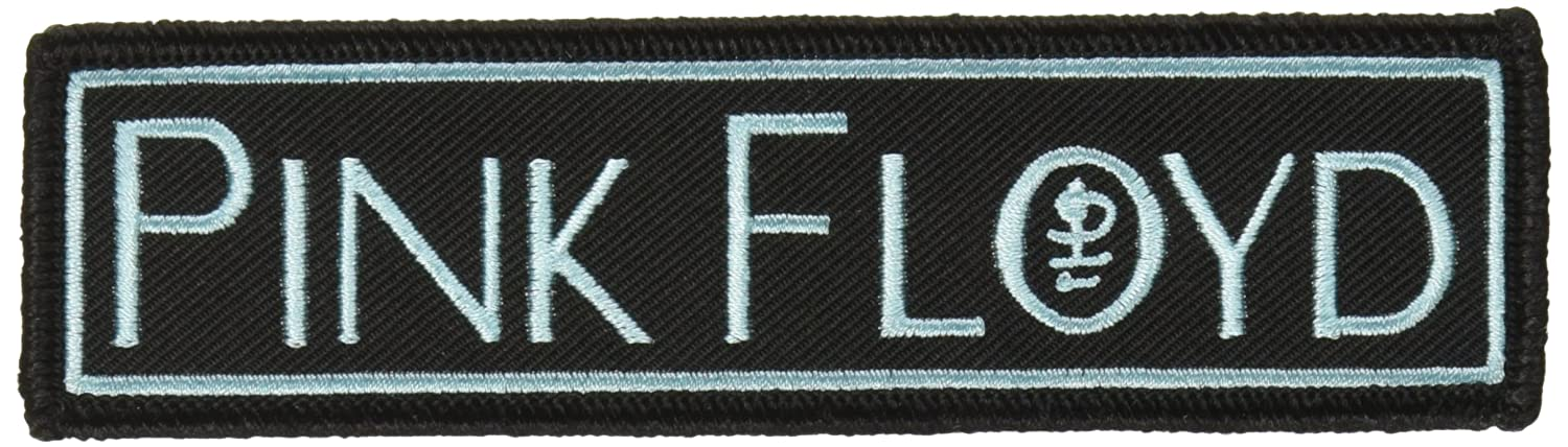 PINK FLOYD Monogram Logo, Officially Licensed Artwork, High Quality Iron-On / Sew-On, 4.9' x 1.3' Embroidered PATCH PARCHE 4.9 x 1.3 Embroidered PATCH PARCHE Officially Licensed & Trademarked Products P-0673