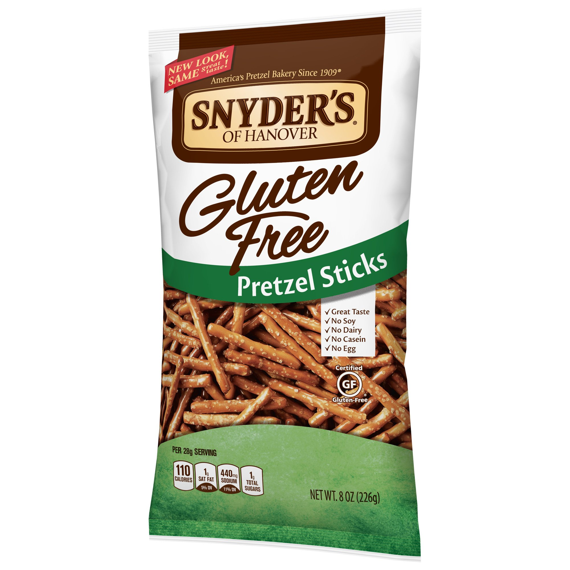 Snyder's of Hanover Gluten Free Pretzel Sticks, 8 Ounce (Pack of 12) by Snyder's of Hanover (Image #6)