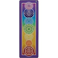 Yoga Towel by My Sacred Self Chakra Art Design for Hot or Bikram Yoga Pilates Premium Microfibre Suede Non slip Super Absorbent
