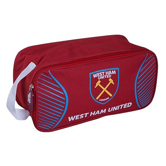 West Ham United FC - Bolsa deportiva zapatos (Talla Única/Granate ...