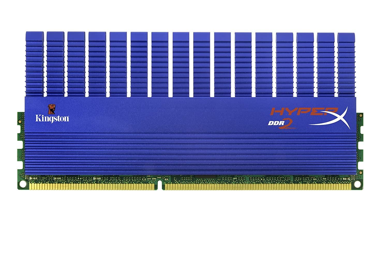 Kingston HyperX 4 GB Kit (2x2 GB Modules) 1066MHz DDR2 DIMM Desktop Memory KHX8500D2T1K2/4G at Amazon.com