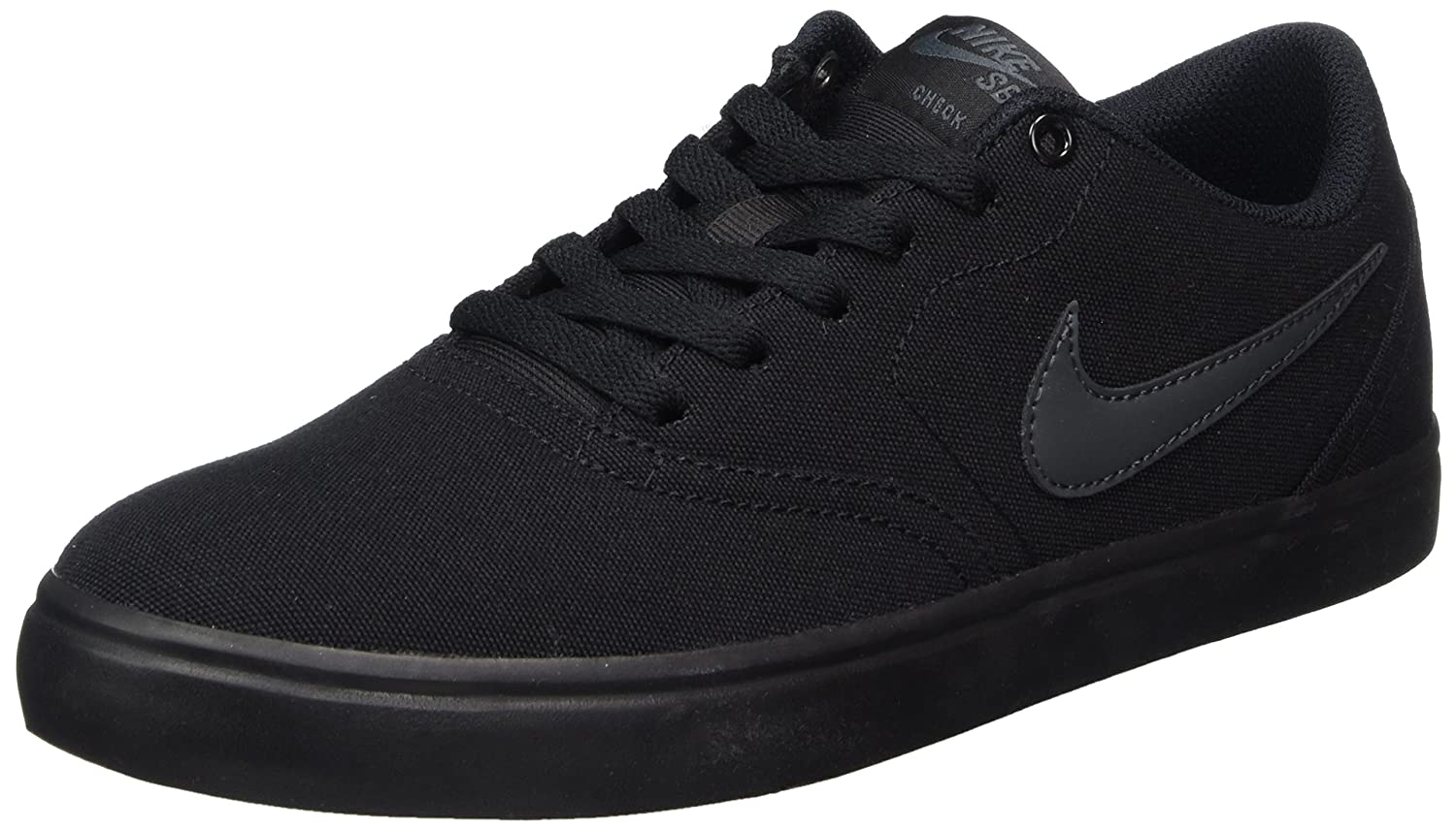 NIKE Men's SB Check Solarsoft Canvas Skateboarding Shoe B0178Q8MS0 11 D(M) US|Black/Anthracite