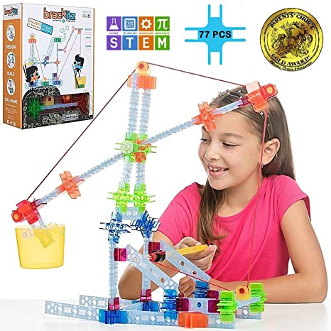 83887a9bf74f Amazon.com  Brackitz Pulley Set for Kids