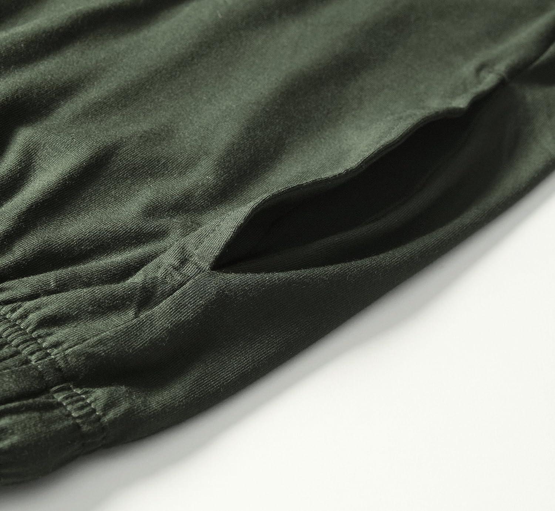 Latuza Men/'s Short Sleeves and Shorts Pajama Set