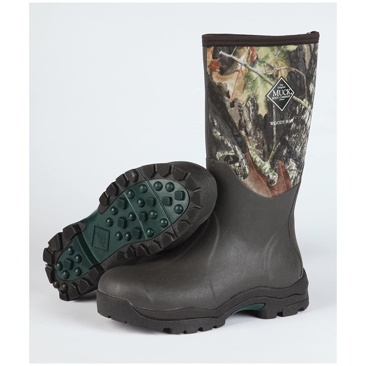 Muck Boot The Original Company Women's Woody Max� New Mossy Oak Break-Up (9) O0057DCKUS664911401372