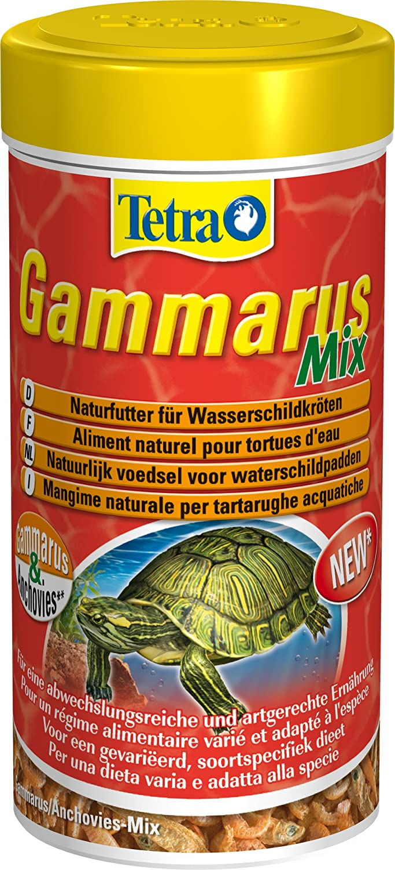Tetra Gammarus Mix (Forro Natural con Bachmann flohk rebsen y anchovies para Agua Tortuga), 250 ml Lata