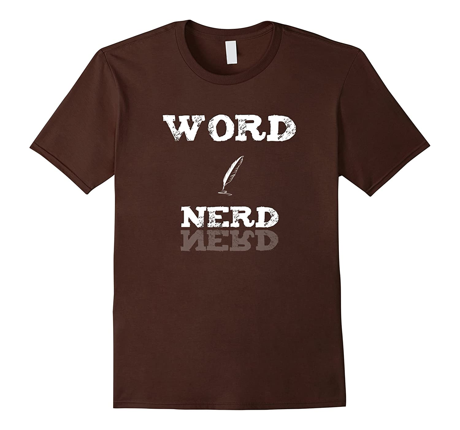 Word Nerd Shirt - for book lovers writers and scribblers-TJ