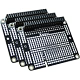 Raspberry Pi 3 Prototyping Board Proto Breadboard HAT by MakerSpot Soldered with Female Pin Connector PCB for Raspberry…