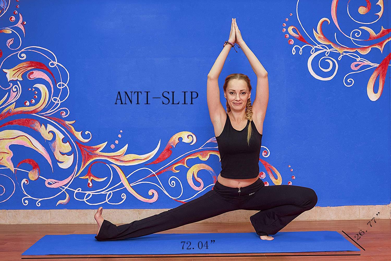 Amazon.com: Upplus toalla para esterilla de yoga de viaje ...