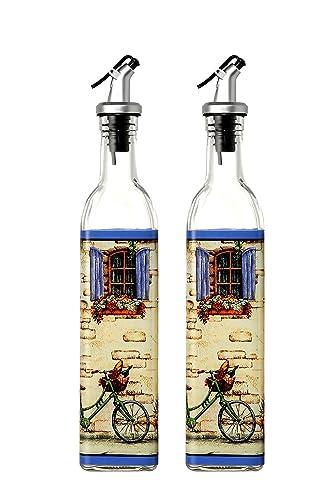 Juvale Oil And Vinegar Dispensers - European Design