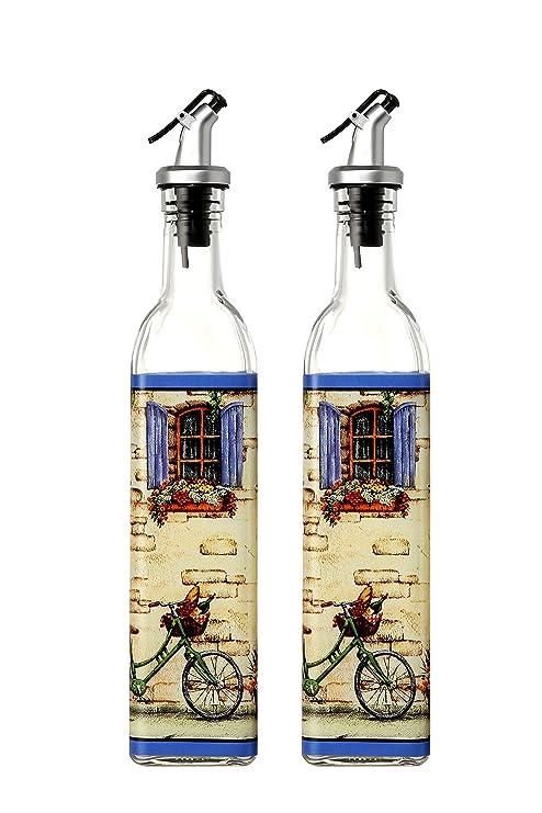 Amazon.com: Despachadores de aceite de oliva y vinagre ...