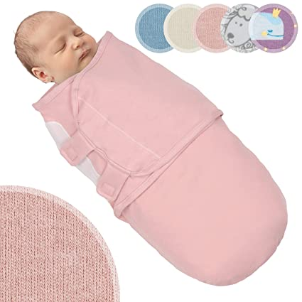 25502ffe168 Infantastic Baby Swaddle Blanket Soft Cotton Infant Wrap Blanket Newborn  Sleeping Bag (M