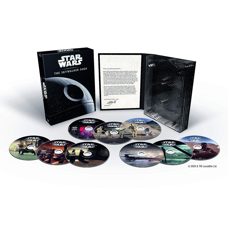 Saga Star Wars DVDs