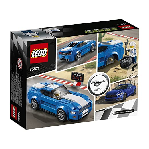 Coche Ford Mustang Speed Gt75871 Lego Champions tsroxChQdB