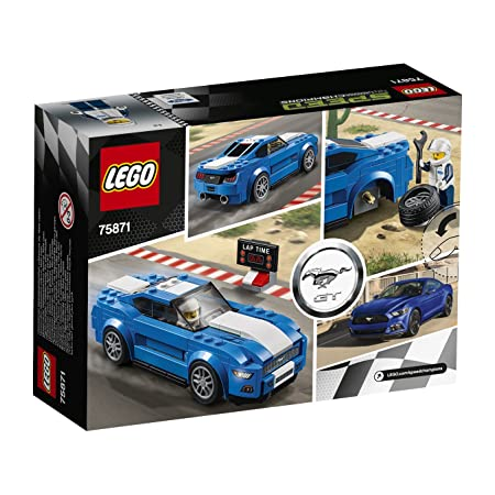 Amazon.com: LEGO Speed Champions Ford Mustang GT (75871): Toys & Games