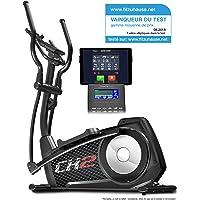 Sportstech Vainqueur du Test Vélo elliptique CX2 Ergomètre avec Commande par Application Smartphone, Poids d'inertie 27 KG, Bluetooth, 24 Niveaux de résistance, Cardio Fitness 12 programmes