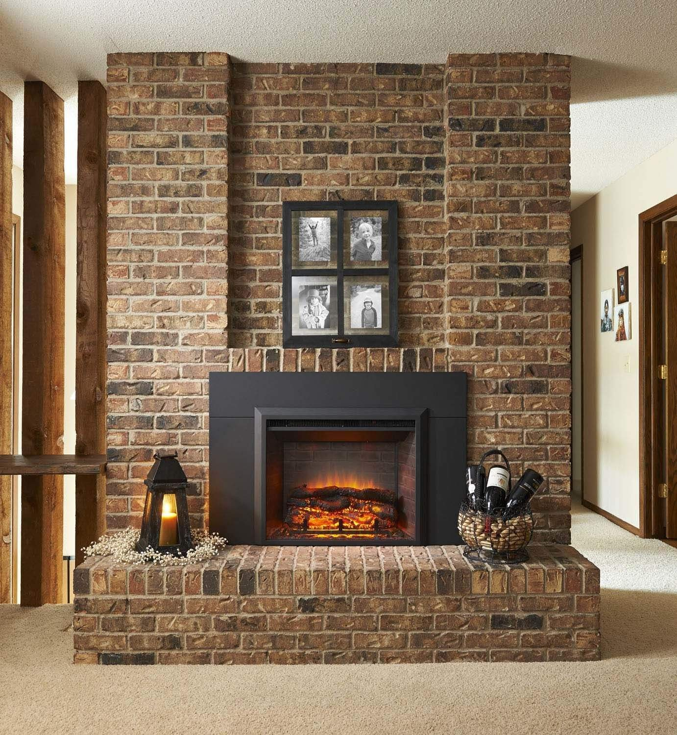 amazon com greatco gallery series insert electric fireplace 42