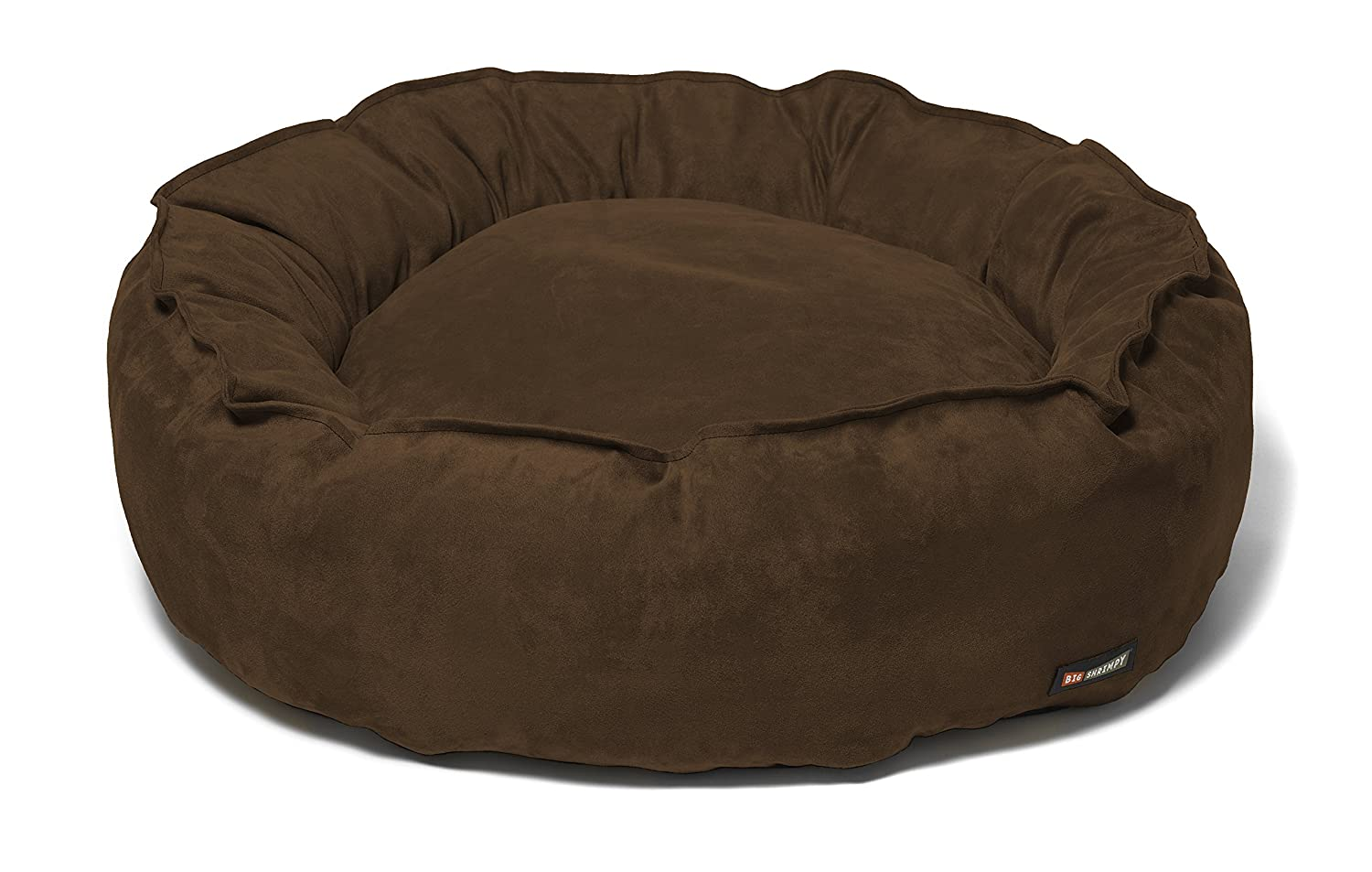 Big Shrimpy 7244 Nest Faux Bed, Medium, Truffle Suede