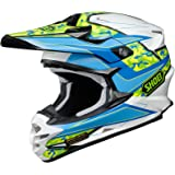 Shoei VFX-W Turmoil Mens Motocross Helmets - Blue - Medium