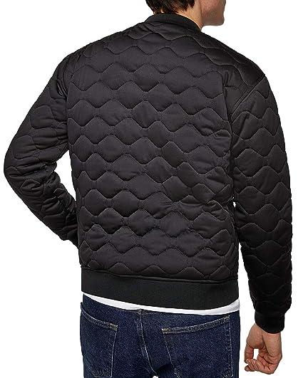 Zara Men Quilted Bomber Jacket 1792 400 Black at Amazon Men s Clothing  store  22df0aabc0efc